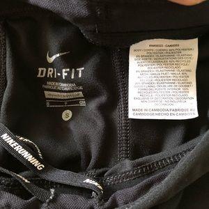 Nike Pants - NIKE RUNNING DRI FIT CAPRIS S